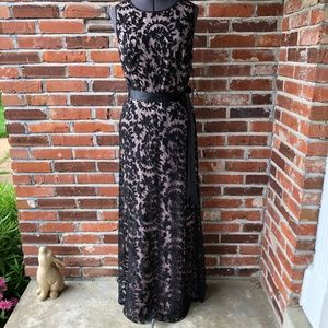 Adrianna Papell Formal Lace Mermaid Gown Sz. 8